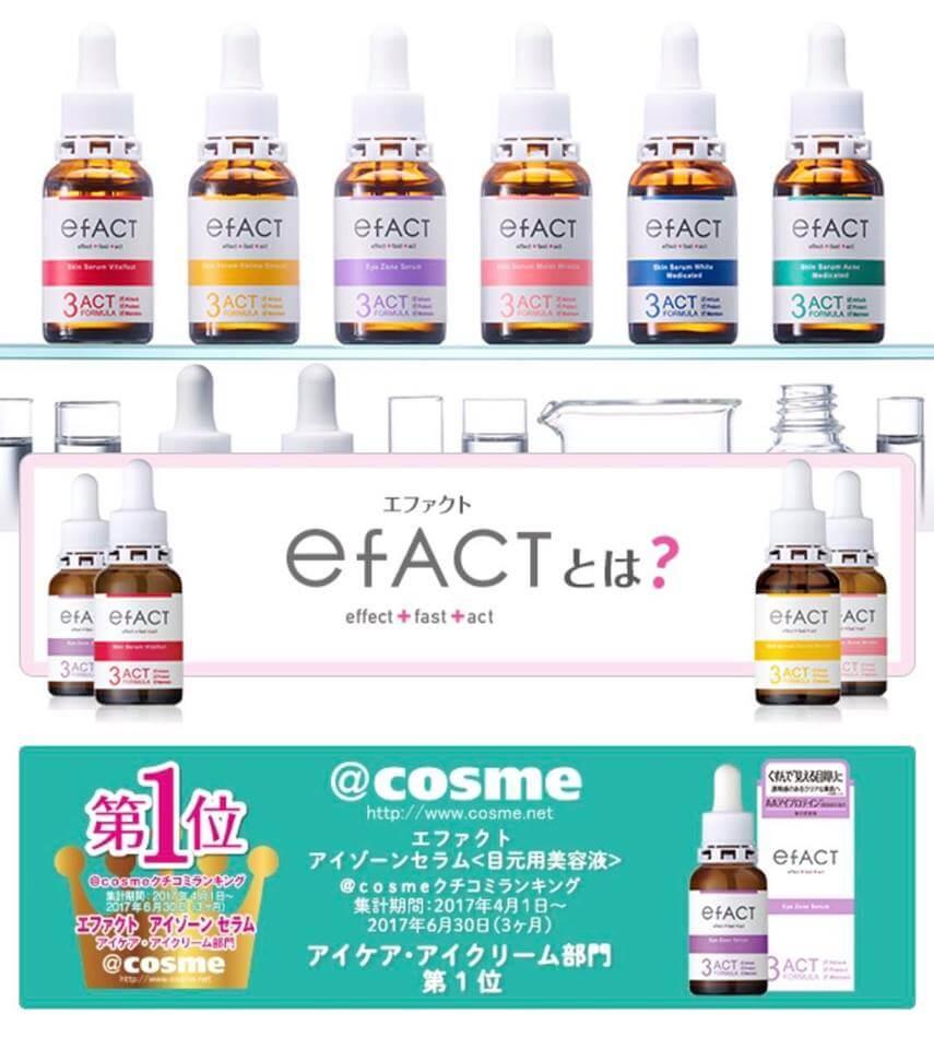 serum duoc pham efact nhat ban