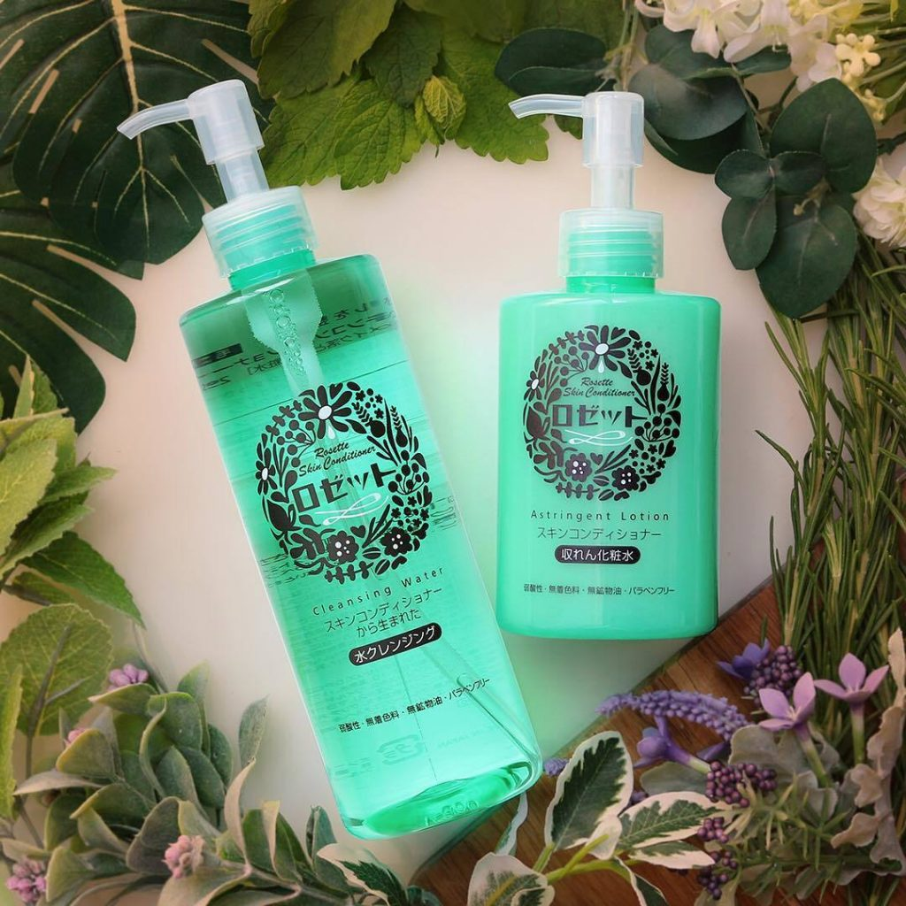 nuoc tay trang rosette skin conditioner water cleansing