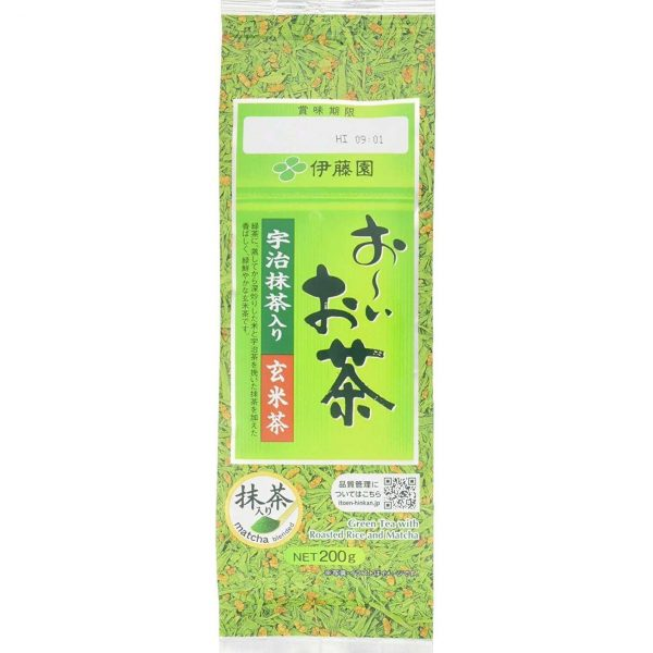 ITOEN-GREEN-TEA-WITH-ROASTED-RICE-MATCHA-200g
