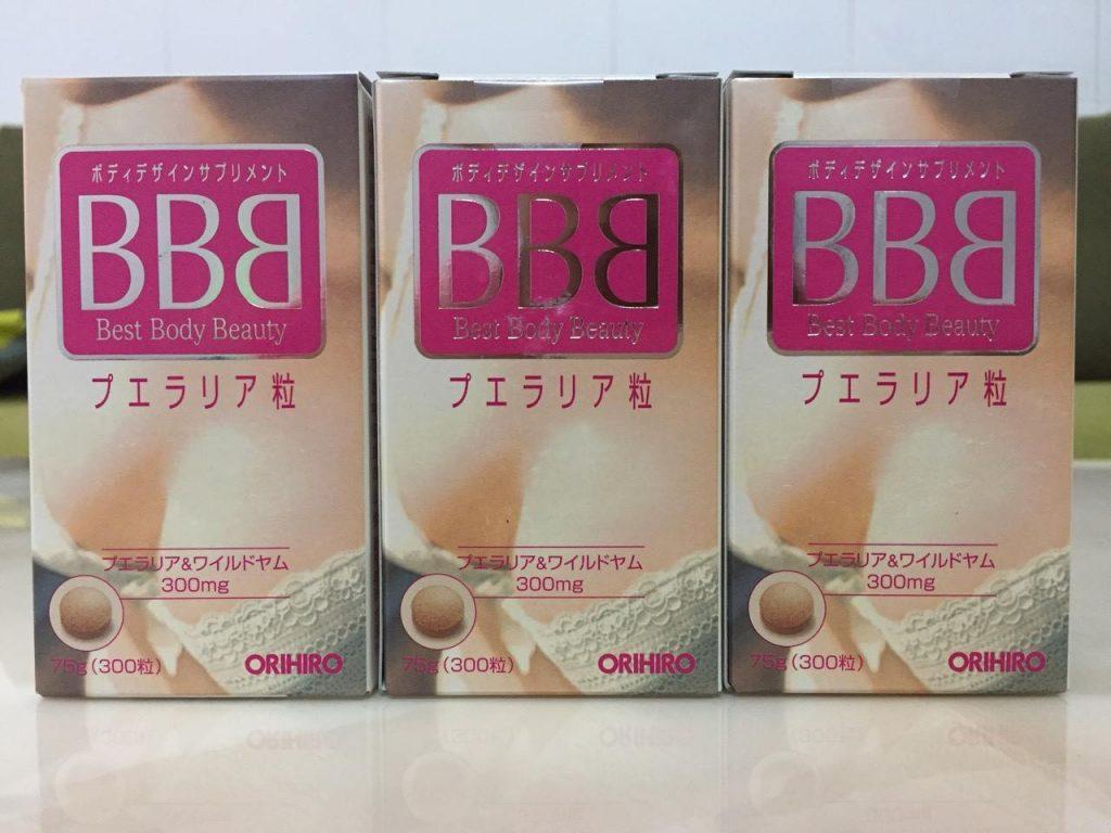 no nguc Orihiro BBB Best Body Beauty nhat ban
