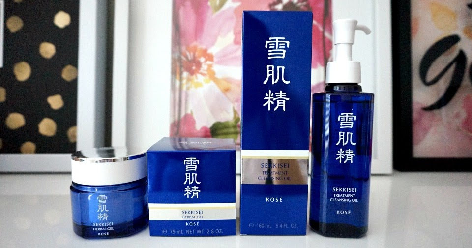 tay trang Kose Sekkisei Treatment Cleansing Oil