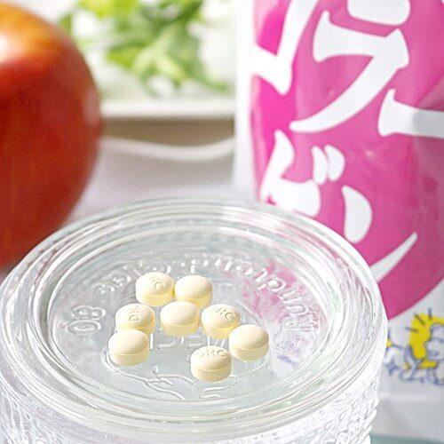 Vien uong Collagen cua DHC collagen japan