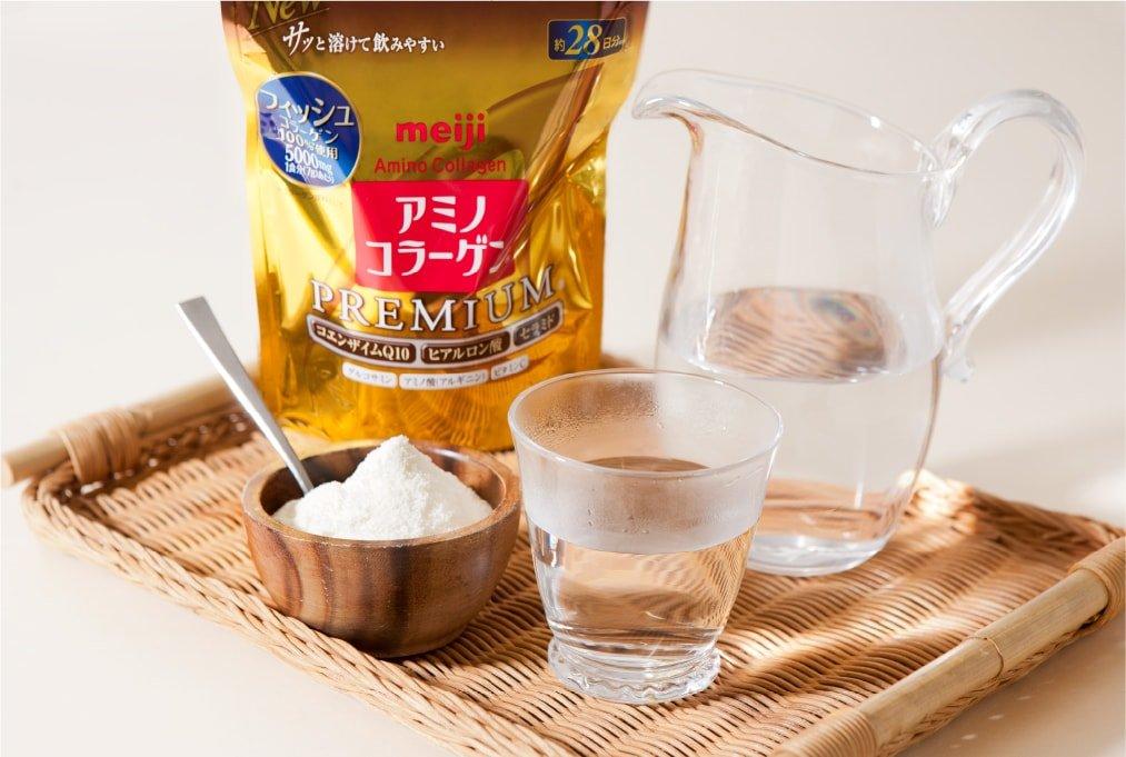 bot collagen meiji premium mau moi new japan