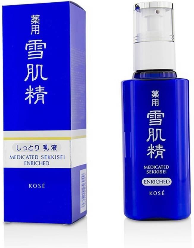 medicated sekkisei enriched emulsion