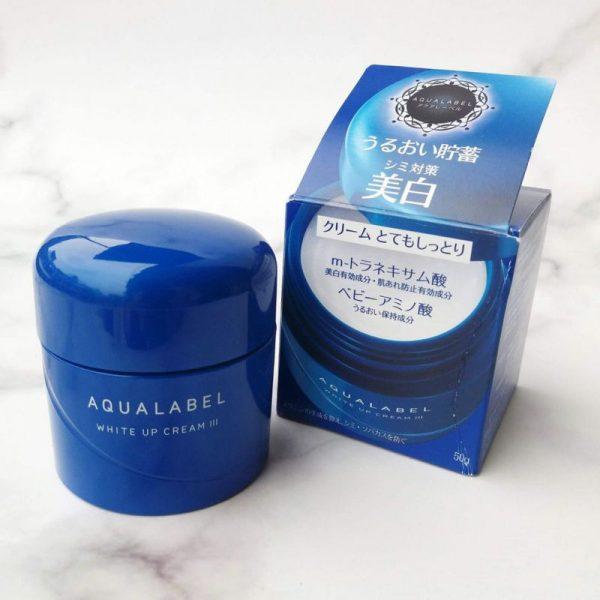Kem-duong-trang-da-Shiseido-Aqualabel-White-up-Cream