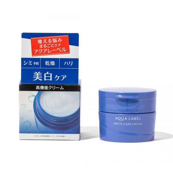 Shiseido-Aqualabel-White-Care-Cream