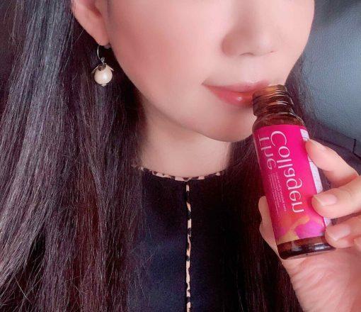 shiseido collagen dang nuoc mau moi