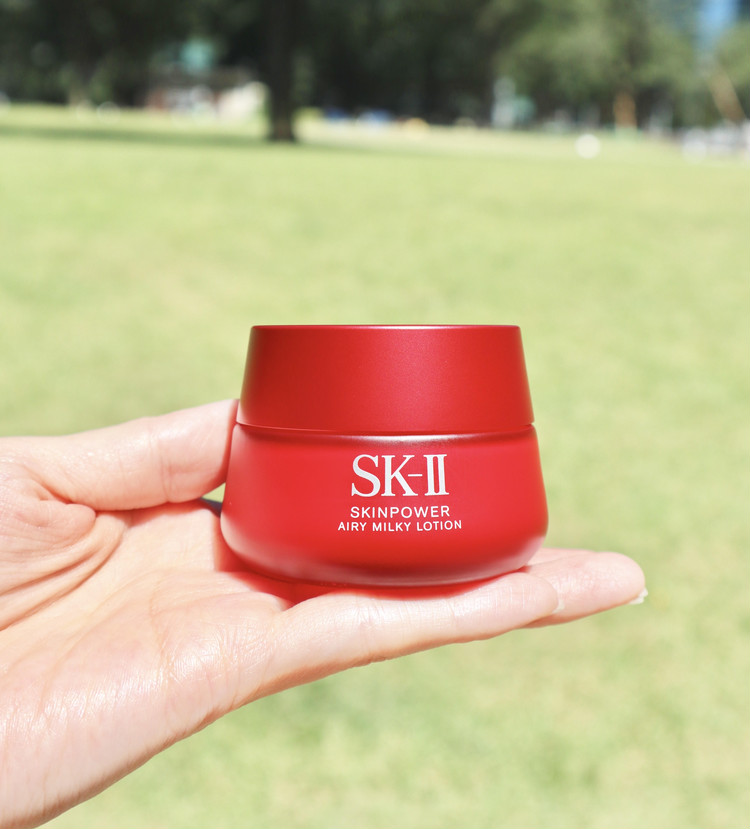 sk ii skinpower airy milky lotion new