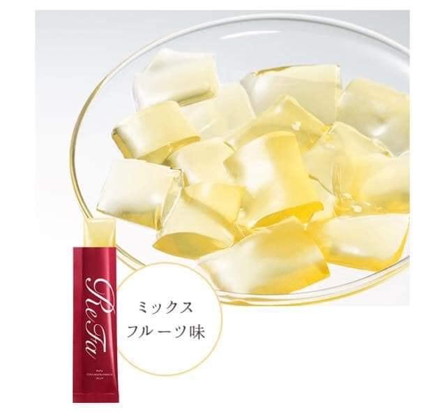Thạch Refa Collagen Enrich Jelly Nhật Bản nội địa được ưa chuộng nhất