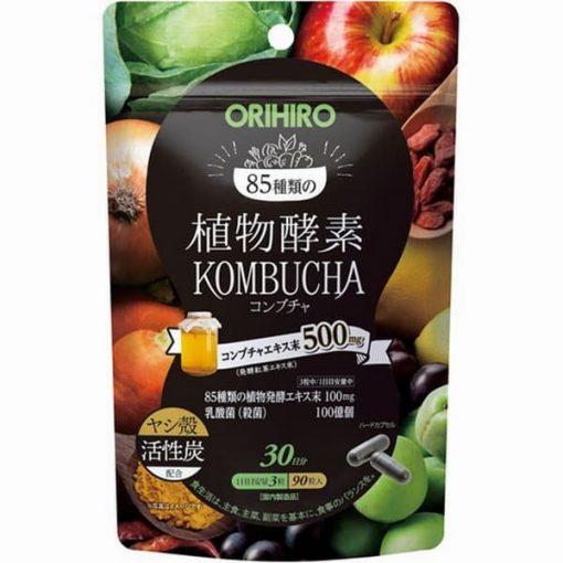 enzyme giam can orihiro kombucha