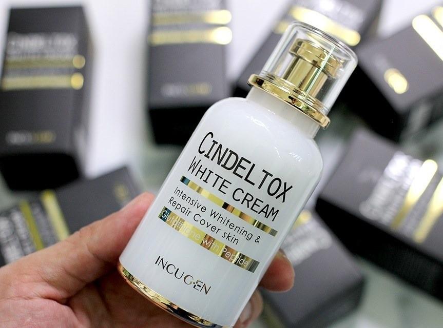 cindel tox white cream han quoc