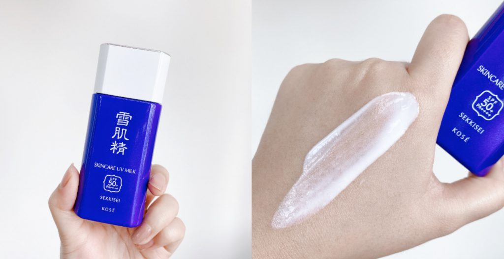 Kose Sekkisei Skincare UV Milk new