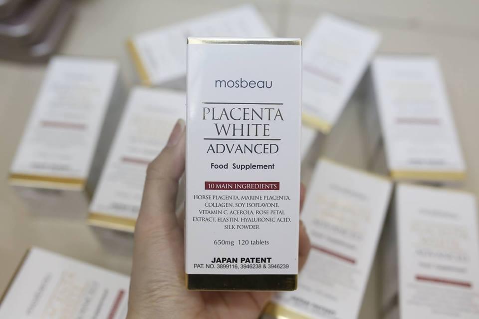 Mosbeau Placenta Whitening Japan