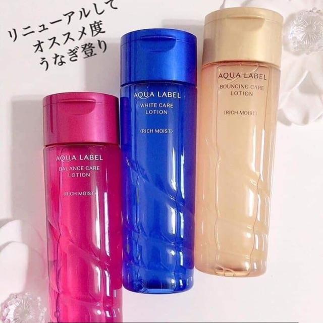 nuoc hoa hong shiseido aqualabel lotion nhat ban