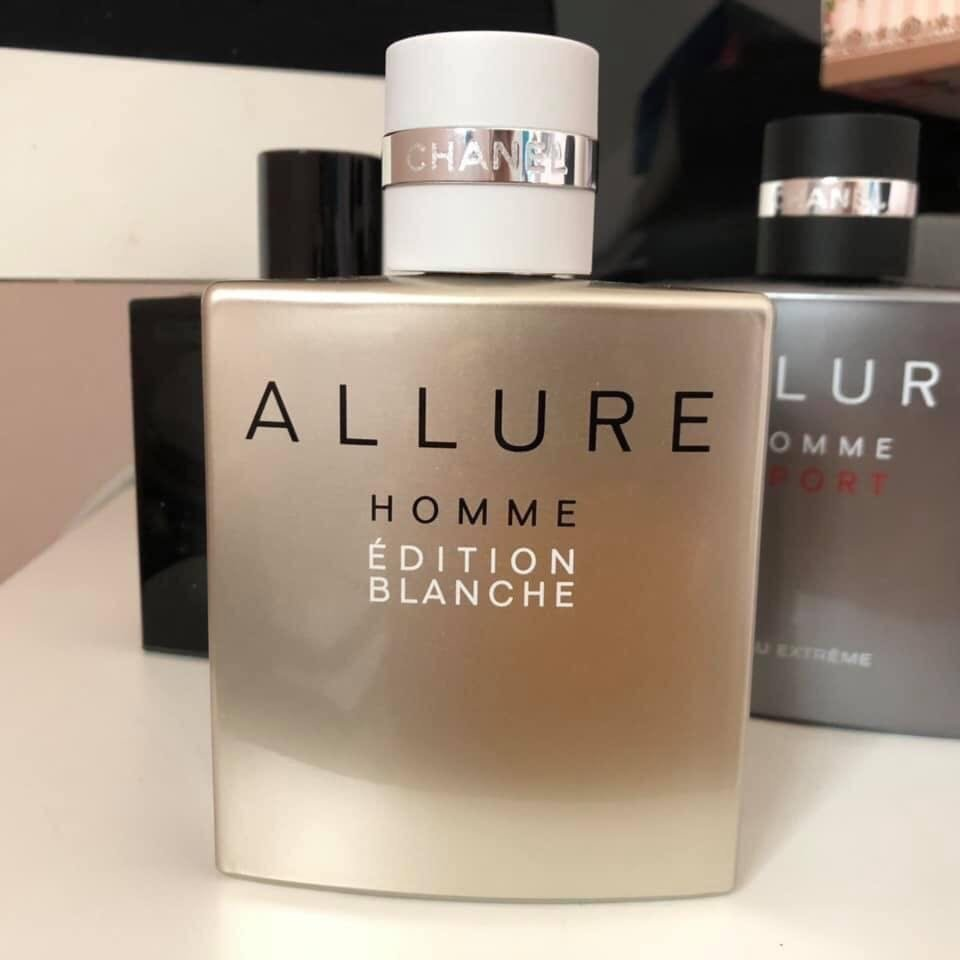 thiet ke chanel allure homme edition blanche edp