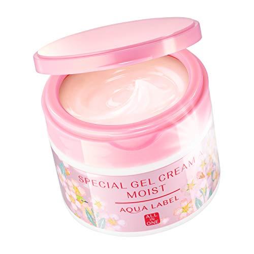 kem duong da hoa anh dao all in one aqualabel shiseido special 90g cream sakura