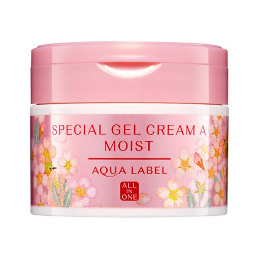 kem duong da hoa anh dao all in one aqualabel shiseido special cream sakura
