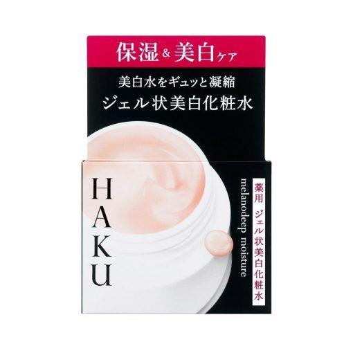 SHISEIDO Haku Melano Moisture Brightening Face Gel Lotion Made in Japan 100g