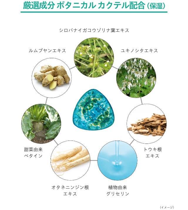 serum haku botanic science tri nam thanh phan