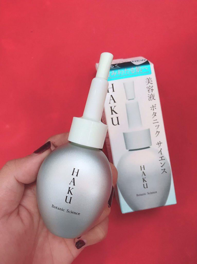 serum tinh chat tri nam trang da haku shiseido botanic science
