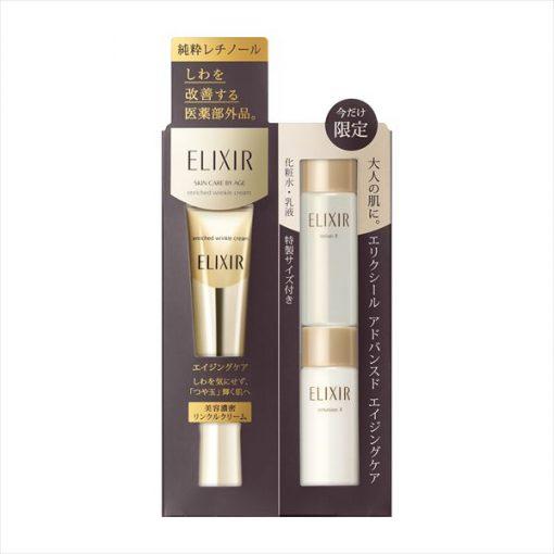 set kem duong chong nhan mat shiseido elixir enriched wrinke cream