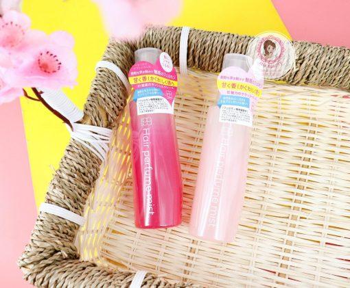 chai xit duong toc huong nuoc hoa hair perfume mist admirs nhat ban