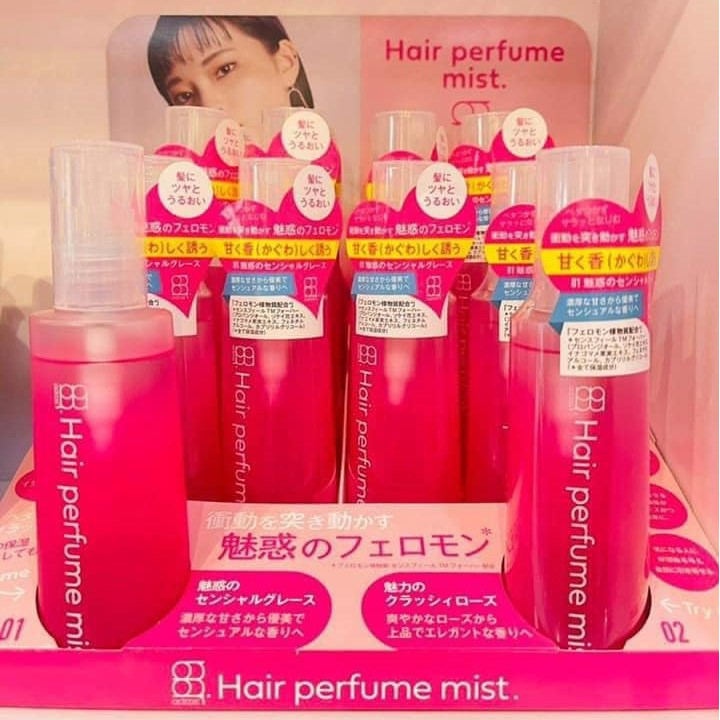 duong toc huong nuoc hoa hair perfume mist nhat ban 120ml