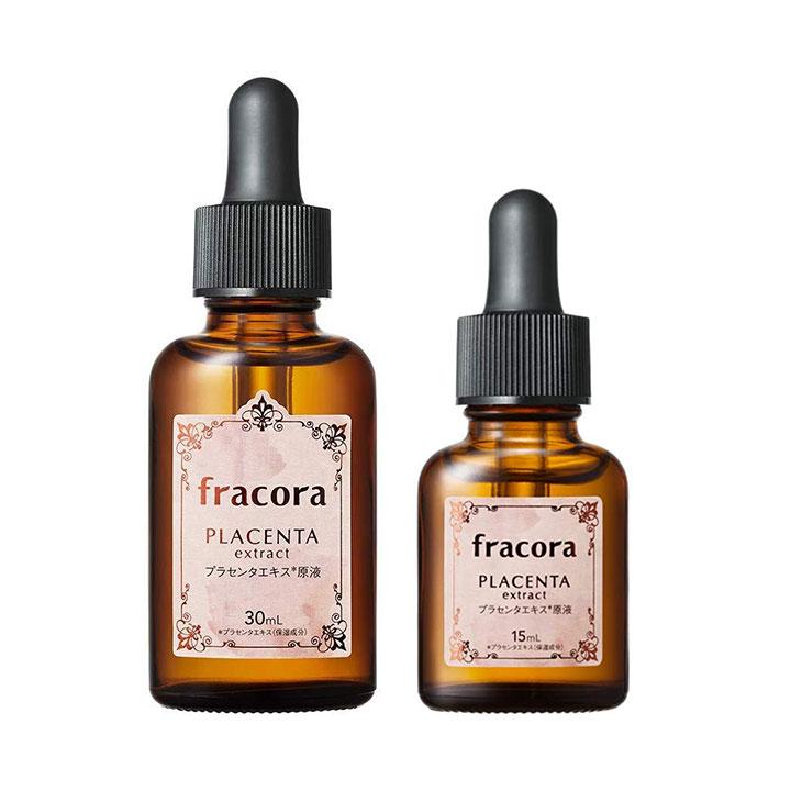 serum chiet xuat nhau thai tuoi fracora placenta extract nhat ban