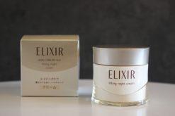 kem duong da dem shiseido elixir lifting night cream 40g