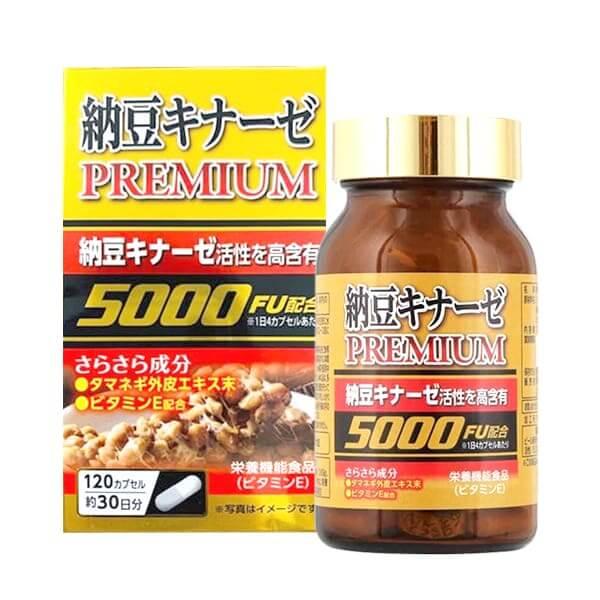 vien uong phong chong dot quy nattokinase premium 5000fu japan