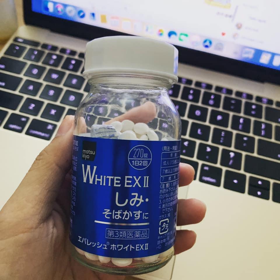 vien uong tri nam matsukiyo white ex ii 270 vien