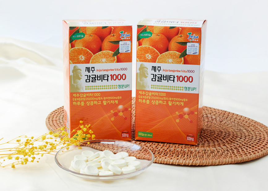 Vitamin C Jeju Orange Vita 1000mg 1