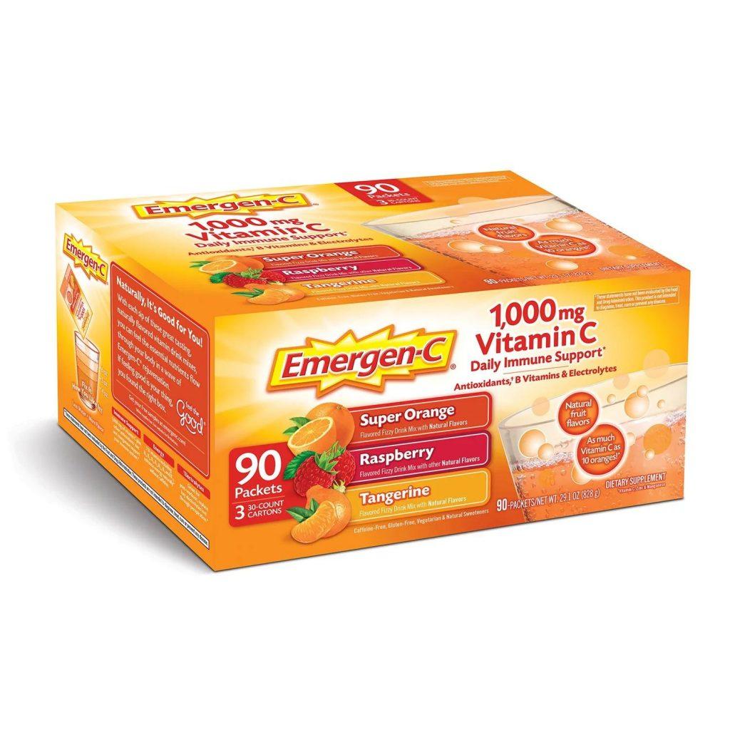bot bo sung tang suc de khang vitamin c emergen c 1000mg 90 goi