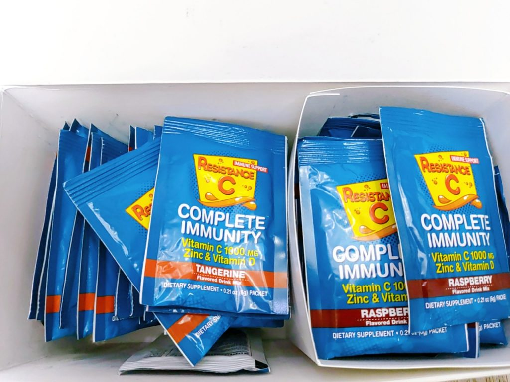 bot sui vitamin c zinc vitamin d tang de khang complete immunity usa