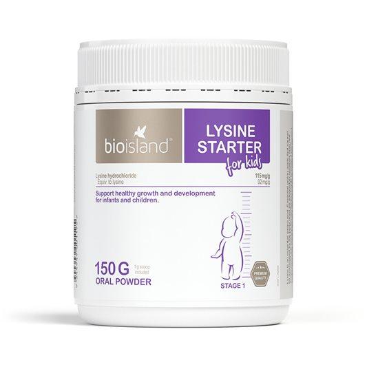 bot tang chieu cao bio island lysine starter for kids