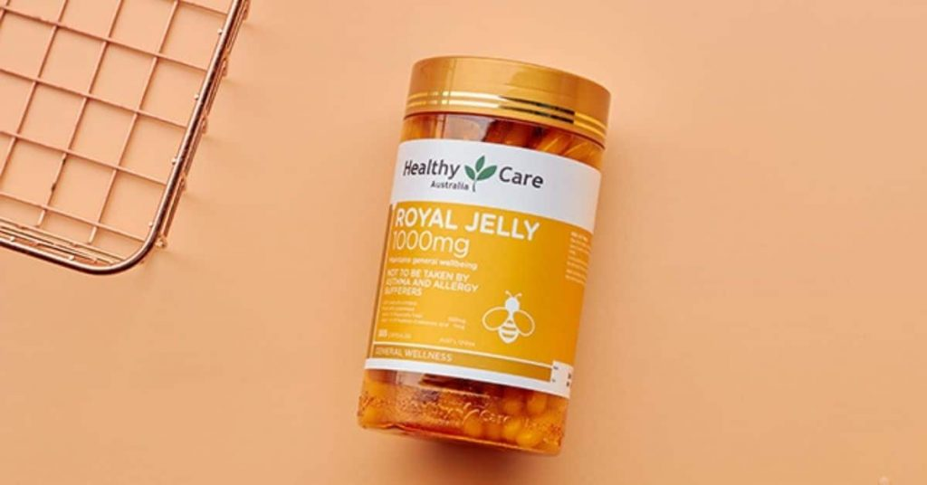 healthy care royal jelly 1000