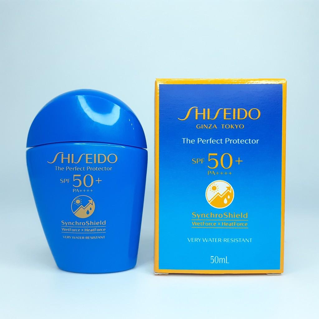 kem chong nang shiseido the perfect protector spf50 pa nhat ban
