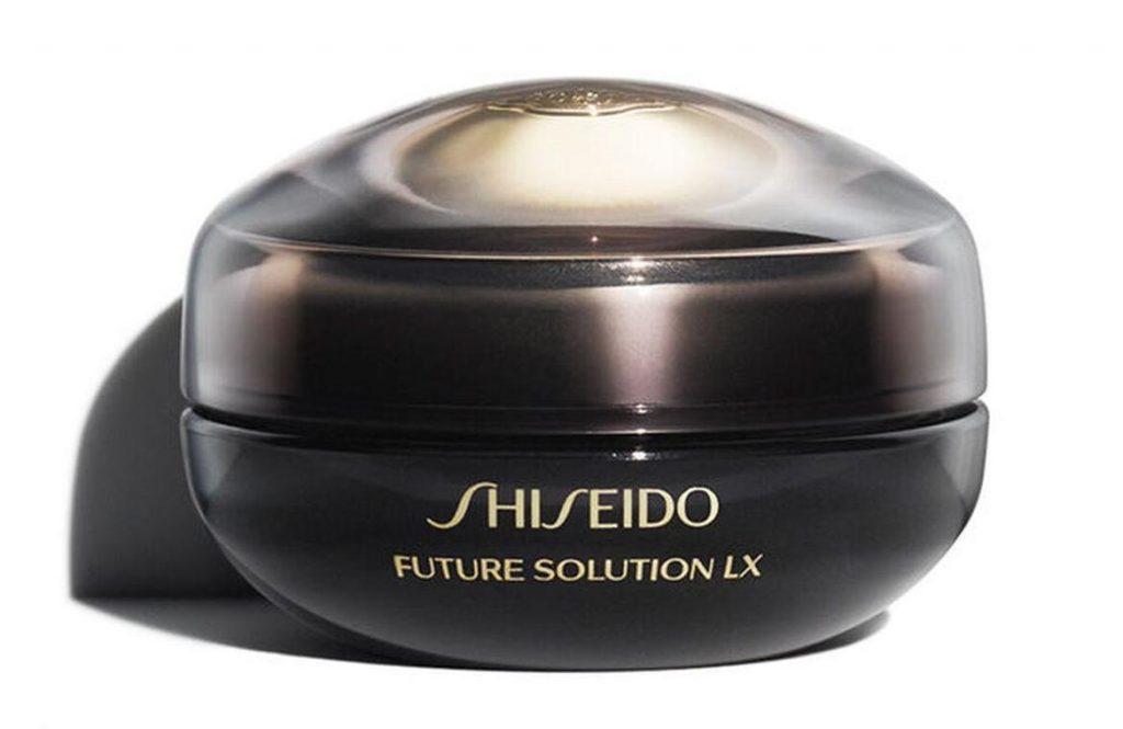 kem duong mat va moi shiseido future solution lx eye and lip contour regenerating cream e