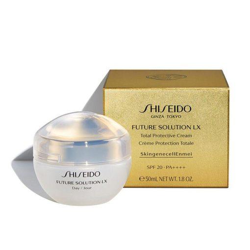 kem duong ngay shiseido future solution lx total protective cream e