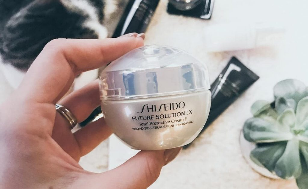 shiseido future solution lx total protective cream e