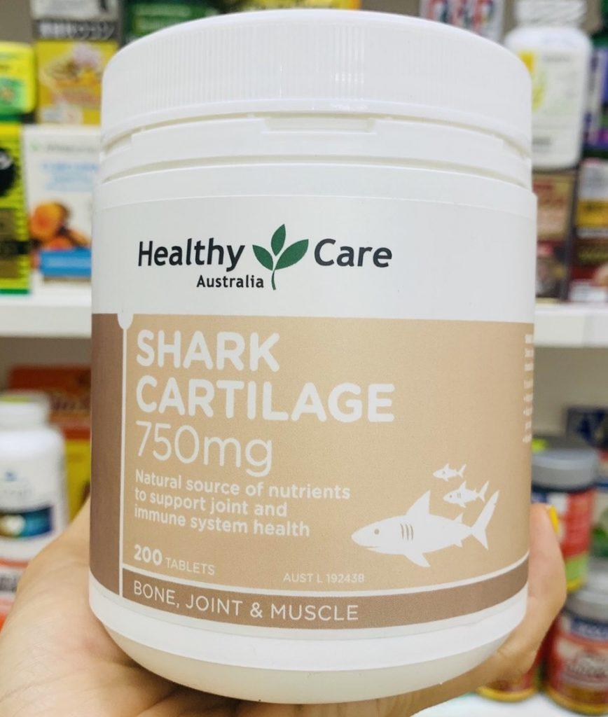 sun vi ca map healthy care shark cartilage 750mg uc