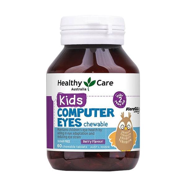 vien nhai bo mat healthy care kids computer eyes