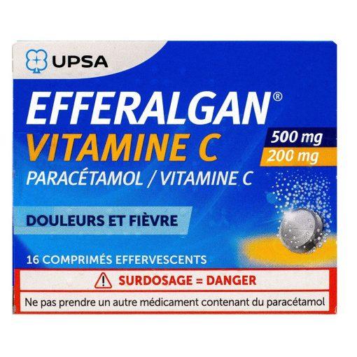 vien sui giam dau ha sot efferalgan paracetamol vitamin c
