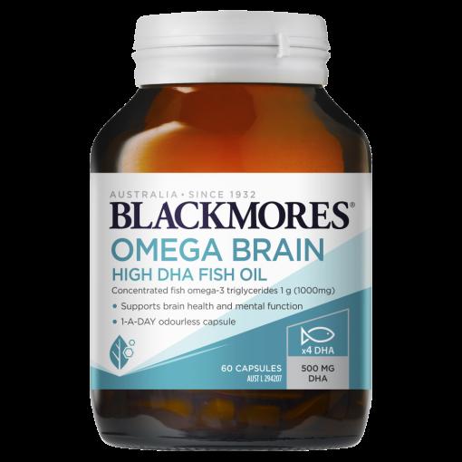 vien uong bo nao omega blackmores brain high dha fish oil