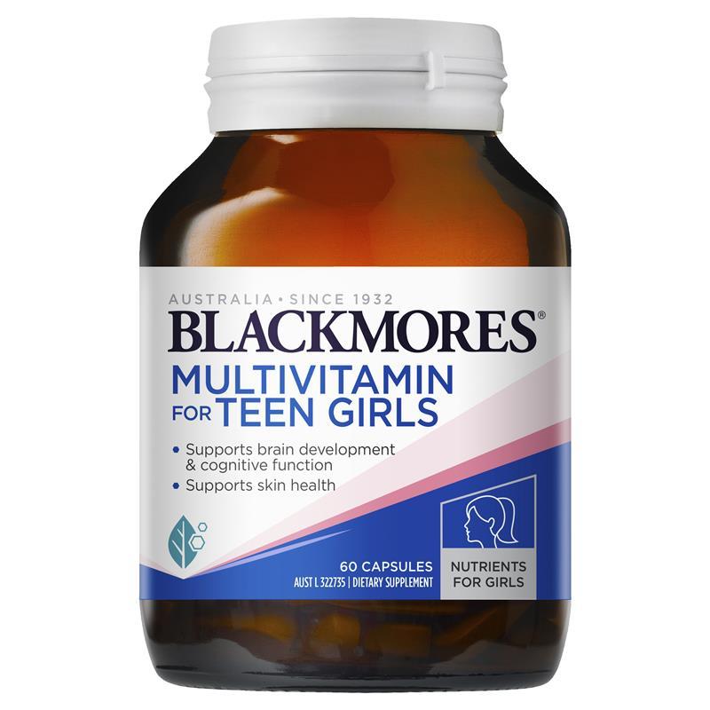 vien uong bo sung multivitamin blackmores for teen girls