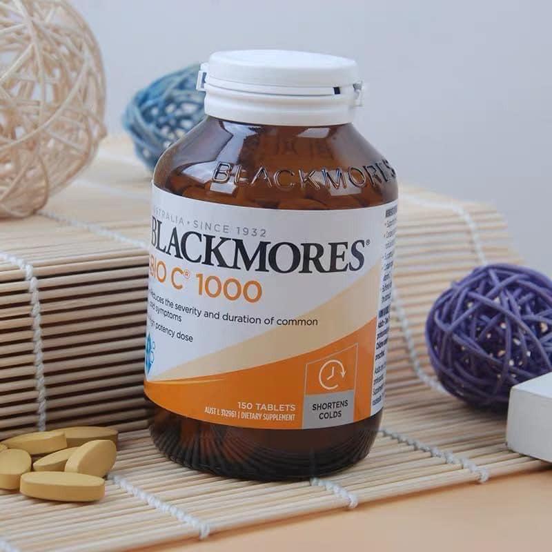 vien uong bo sung vitamin c blackmores bio c 1000 cua uc