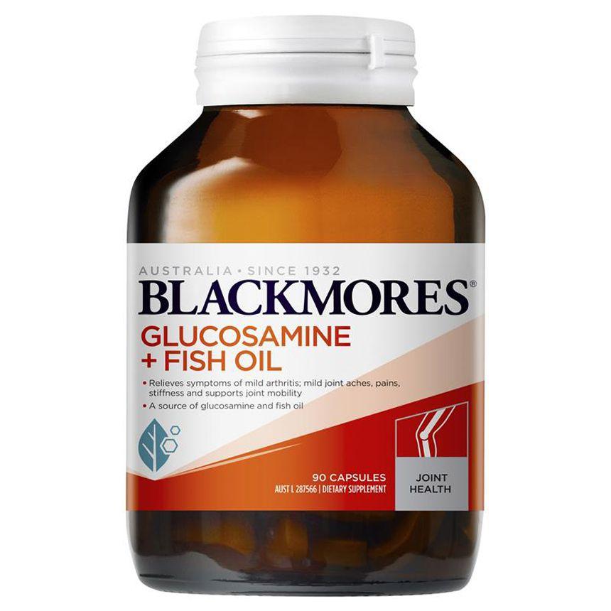 vien uong bo xuong khop blackmores glucosamine fish oil