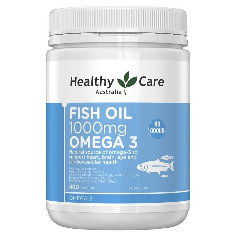 vien uong dau ca healthy care fish oil 1000mg omega 3