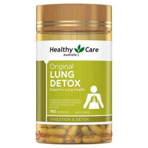 vien uong giai doc bo phoi healthy care original lung