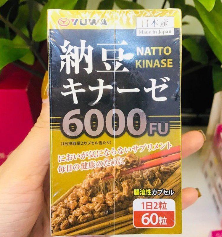 Natto Kinase 6000FU Yuwa Japan
